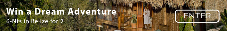 Enter to win a Trip to Belize