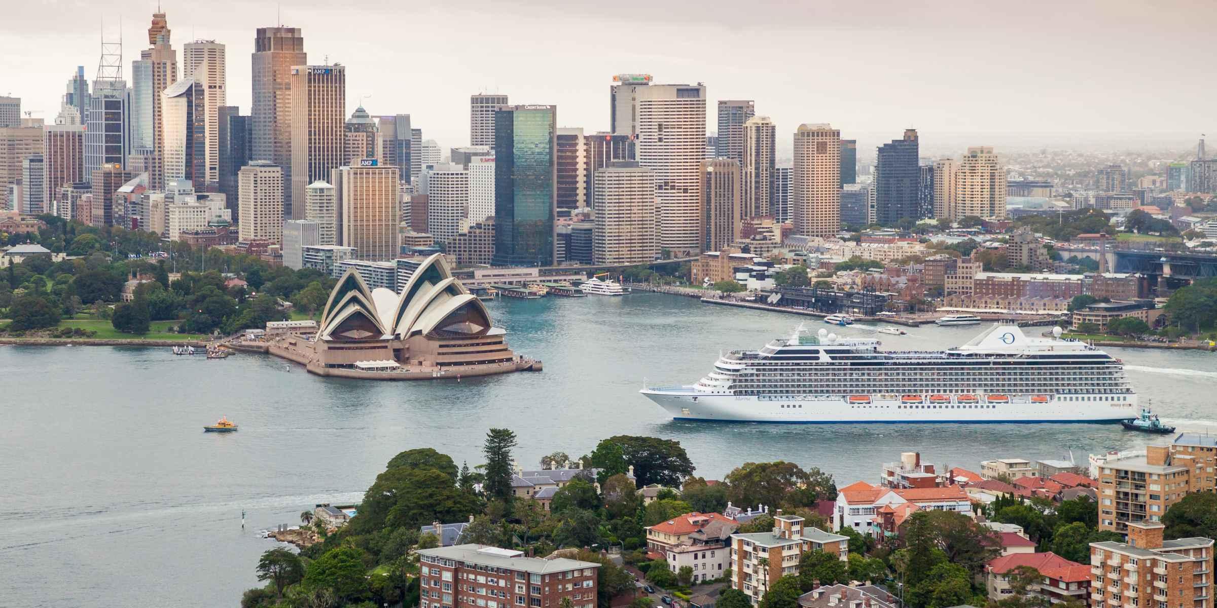 Luxury Oceania Cruises   Cruise Ships & Itineraries
