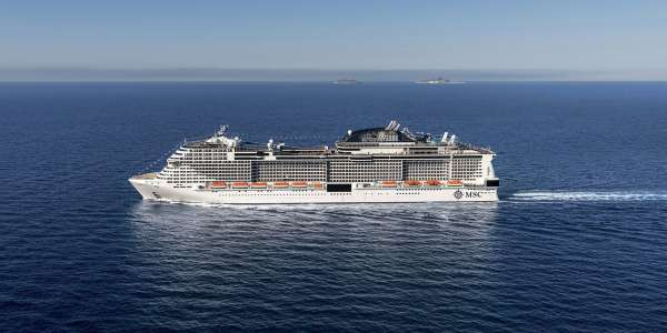 Sea Day Gets an A+ on the MSC Meraviglia